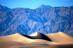 Dune and mountains Royalty Free Stock Photo