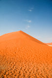 Dune in Namib desert Royalty Free Stock Photography