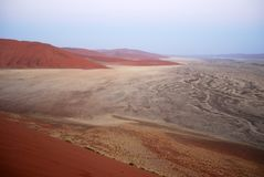 Dune 45, Namib Naukluft National Park, Namibia Stock Photography