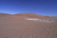 Dune of Namib Naukluft Park Royalty Free Stock Photo