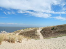 Dune in Neringa, Lithuania Royalty Free Stock Images