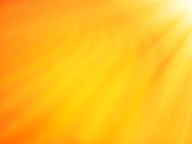 Dune orange diagonale de désert avec le fond clair de bokeh de fuite Photographie stock libre de droits