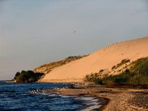 Dune Parnidis In Nida, Lithuania Stock Images