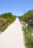 Dune Path: Hillarys, Western Australia stock photography