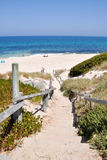 Dune Path to Cottesloe Beach Royalty Free Stock Photos