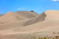 The dune peaks at Bruneau dunes. Stock Image