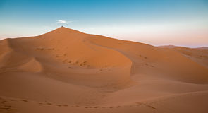 Dune and people Stock Image