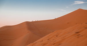 Dune and people Stock Images