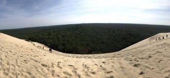 Top of the dune stock photos