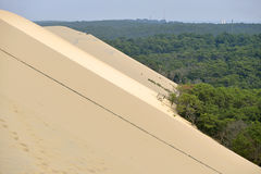 Dune of Pilat in France Royalty Free Stock Photo