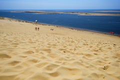 Dune of Pilat, France Stock Photos