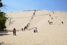Dune of Pilat, France Royalty Free Stock Photos