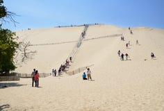 Dune of Pilat, France Royalty Free Stock Photos