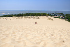 Dune of Pilat, France Royalty Free Stock Photo