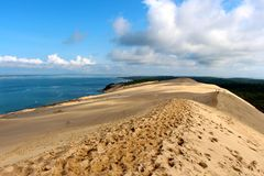 The Dune of Pilat - Landes(Moors) Royalty Free Stock Image