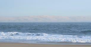 Dune of Pilat seen from Cap Ferret. royalty free stock photos