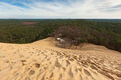 Dune of Pyla Royalty Free Stock Photos