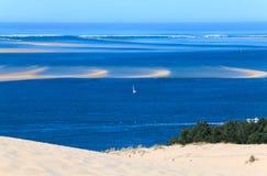 Dune of Pyla (Pilat), Arcachon Bay Stock Photography