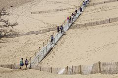 Dune of Pyla royalty free stock images