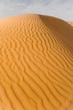 Dune ripples. Ripples on a sand dune royalty free stock photo