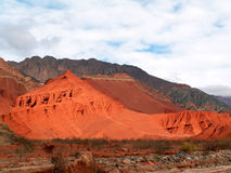 Dune rosse Immagini Stock Libere da Diritti
