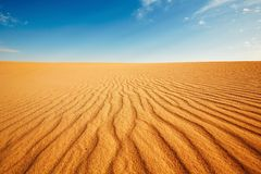 Dune of the sand Royalty Free Stock Photography