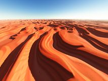 Dune of sands Royalty Free Stock Image