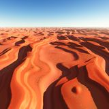 Dune of sands Stock Photos