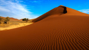 Dune 45, Sossusvlei, Namibie Photos stock