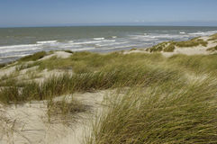 Dune of  Stella Plage in Nord Pas de Calais Stock Photography