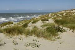 Dune of  Stella Plage in Nord Pas de Calais Royalty Free Stock Photos