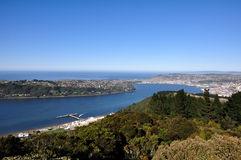 Dunedin. Is the second-largest city in the South Island of New Zealand stock image