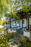 The Dunedin Chinese Garden in New Zealand. Stock Photos