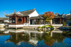 The Dunedin Chinese Garden in New Zealand. Stock Image