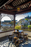The Dunedin Chinese Garden in New Zealand. Stock Images