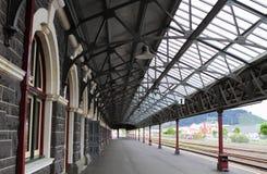 Dunedin järnvägsstation royaltyfri fotografi