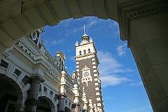 Dunedin järnvägsstation, Nya Zeeland Royaltyfri Bild