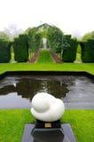 DUNEDIN, NOUVELLE-ZÉLANDE - FEBR 10, 2015 : jardin de château de Larnach photographie stock