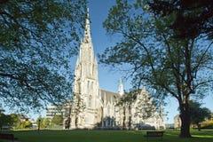 Dunedin, première église image libre de droits