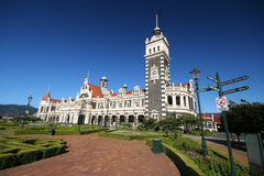 Dunedin Railway Station Stock Photography