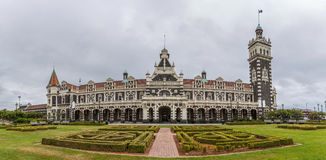 Dunedin railway station, Dunedin, South island of New Zealand Stock Image