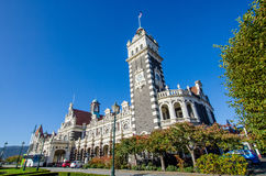 Dunedin Railway Station which is located at south island of New Zealand. Stock Image