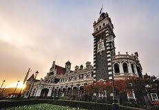 Dunedin stacja kolejowa Zdjęcia Royalty Free