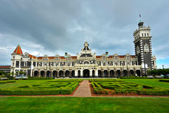 Dunedin train station Stock Image