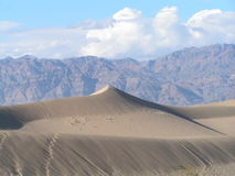 The Dunes. The sand dunes in the Death Valley Stock Photo
