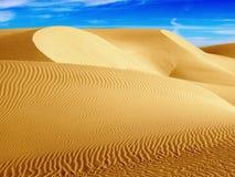 Dunes. Desert Dunes in Western Egypt Stock Image