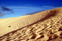 Corralejo dunes. National Park just outside Corralejo town, Fuerteventura Stock Image