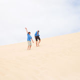 On dunes Stock Photography