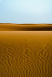 Dunes. Of the Erg Chebbi Merzouga Stock Photography