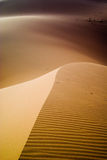 Dunes. Of the Erg Chebbi Merzouga, Morocco Stock Photography